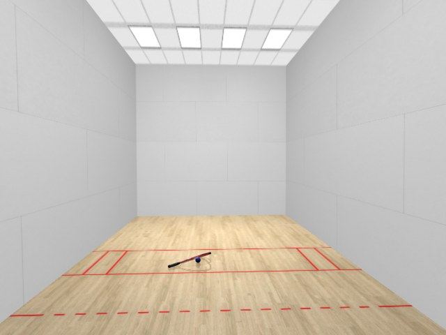 Racquetball courts Racquetball court diagram